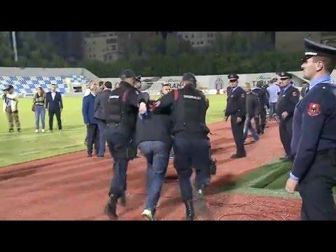 Dhunë pas derbit të fundit - Top Channel Albania - News - Lajme