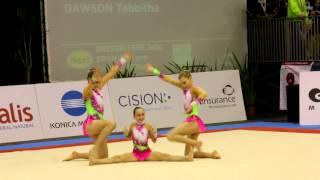 gymnastics miac 2014 ag1 wg dynamic gbr richmond