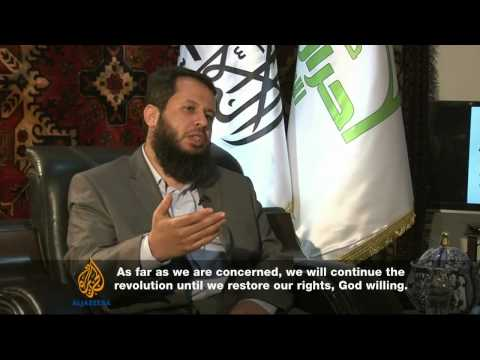 Leader of Ahrar al-Sham rebel group speaks to Al Jazeera