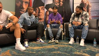 Cast Of CREED 2 At ComplexCon Part 1