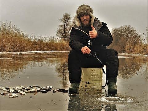 Зимняя рыбалка. В