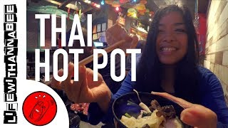 Best All You Can Eat THAI Hot Pot - Jaew Hon New York in Woodside | NYC Food Tour - LifewithAnnaBee