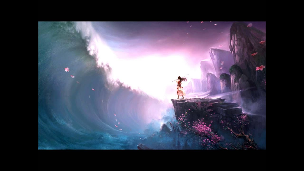 Pretty Cartoon Girl Wallpapers Nightcore Tsunami Youtube