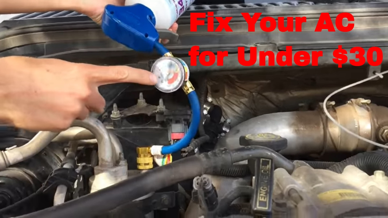 How To Fix Ac >> How To Fix Your Car Ac For Under 30 And Under 3 Minutes 7 3 Powerstroke