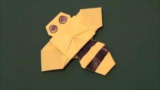「Bee」origami「はち」折り紙