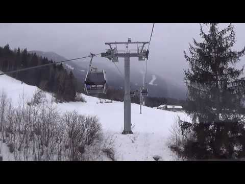 "Risalita integrale cabinovia Leitner ""Ried - Gipfel"" - Brunico (BZ) / gondolheisen / ゴンドラリフト 缆车"