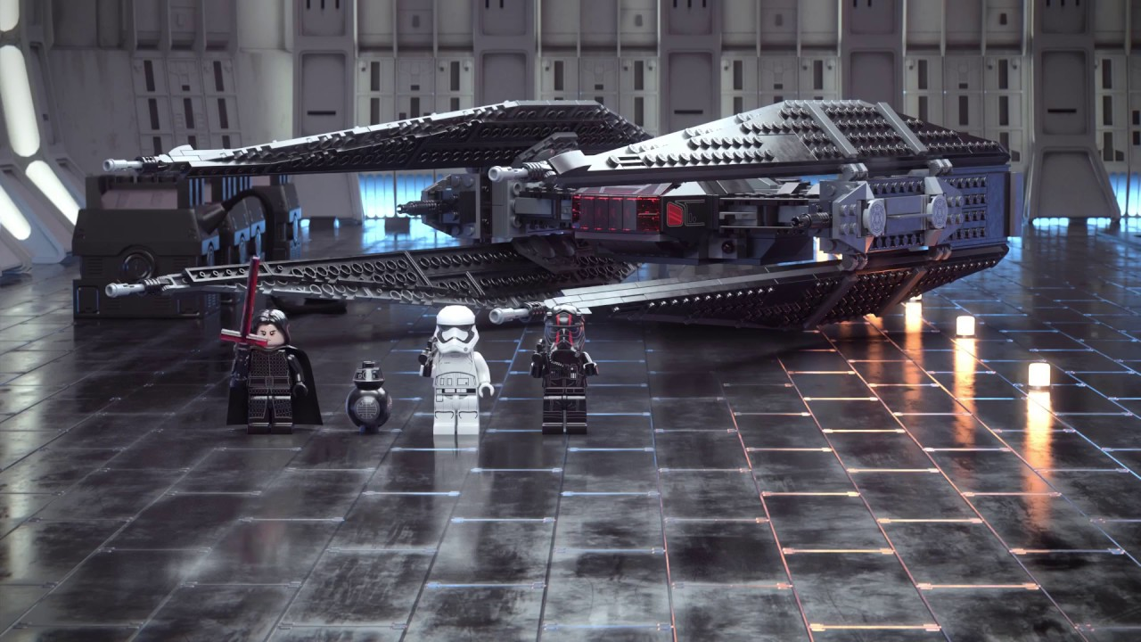 LEGO 75179 Kylo Ren's TIE Fighter Set Parts Inventory and ...