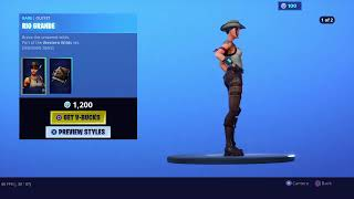 NEW COWBOY AND COWGIRL Skins fortnite item shop