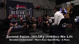 UUSA Powerlifting 2019 NW Regionals Day 2 Platform 2 - Squats