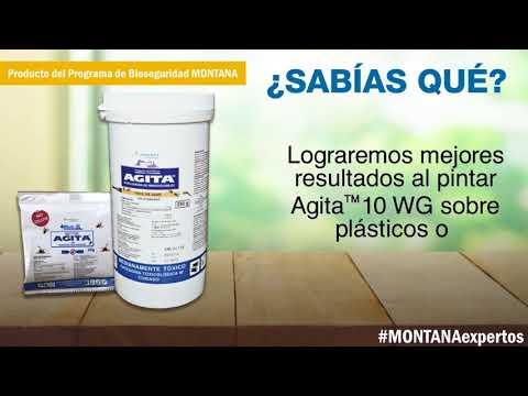 AGITA, eficaz insecticida para la mosca adulta