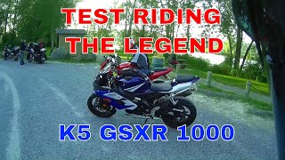 First Ride Series - the Legendary K5 GSXR 1000  -  SV1000 Comparison.