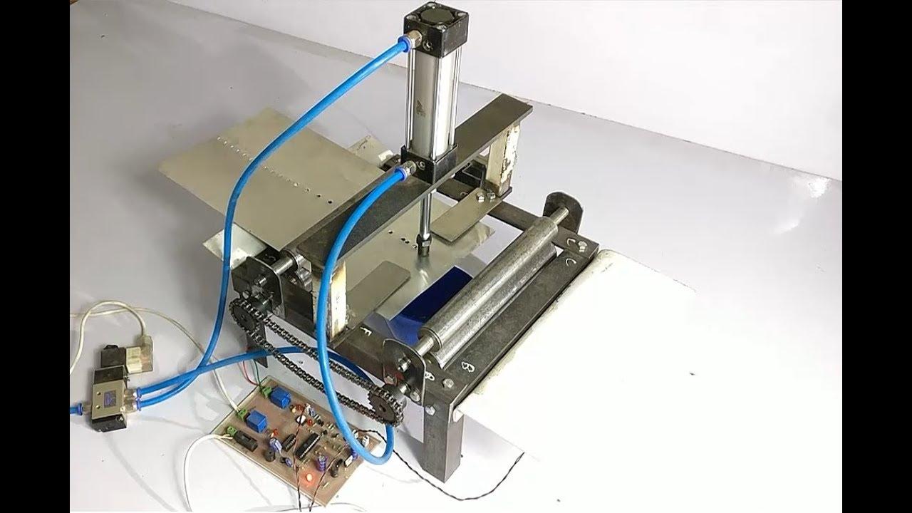 Air Powered Pneumatic Punching Machine Youtube