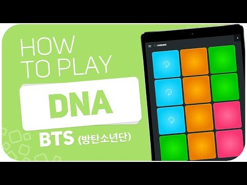How to play: DNA (BTS) - SUPER PADS - Kit Chromo