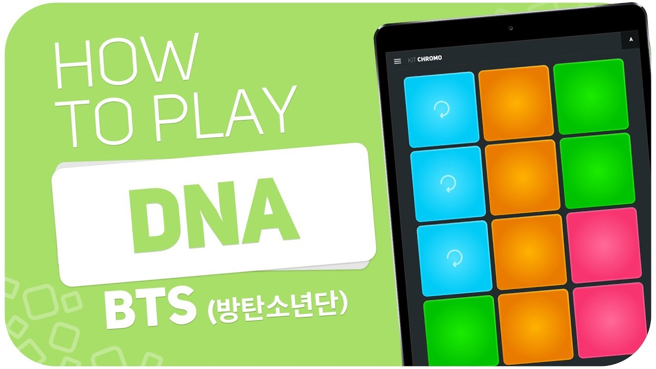 How to play: DNA (BTS) - SUPER PADS - Kit Chromo - YouTube