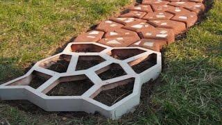 Садовые дорожки из покрышек своими руками: фото, видео
