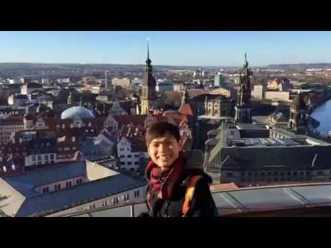Dresden top of church view