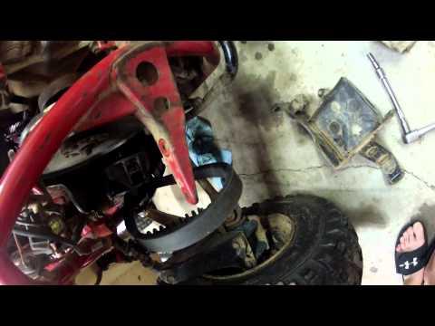 Honda Odyssey FL350 - Belt Removal