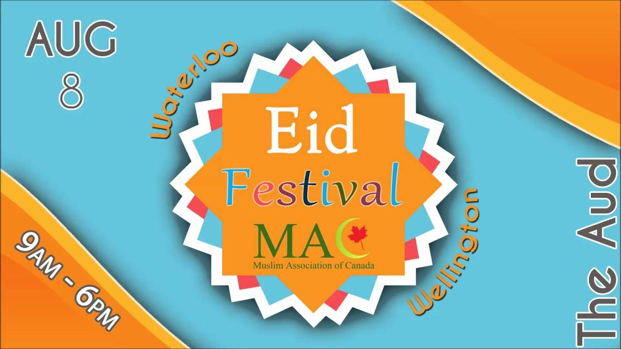 AM 570 News Promo - MAC Waterloo-Wellington Eid Festival - YouTube