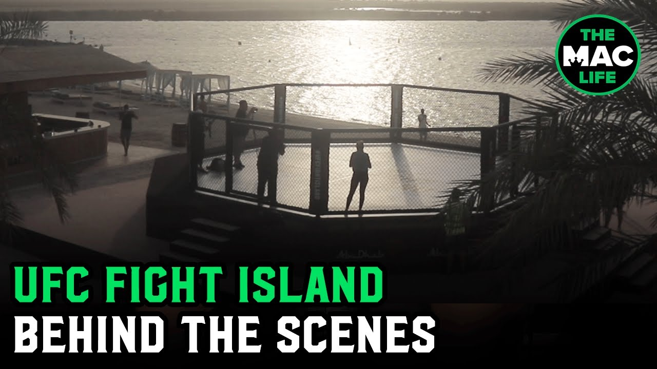 UFC Fight Island: Behind The Scenes Tour of UFC 251