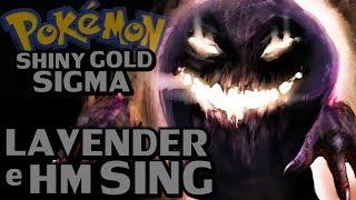 Pokémon Shiny Gold Sigma (Detonado - Parte 32) - Lavender e Hm Sing