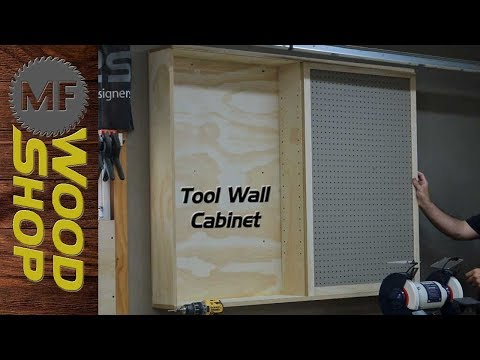Tool Wall Cabinet