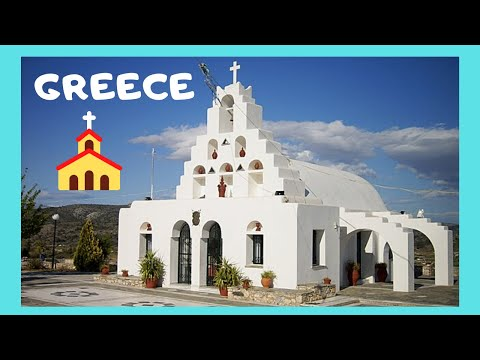 GREECE: ISLAND of SALAMINA (Σαλαμίνα), a tour of its magnificent churches