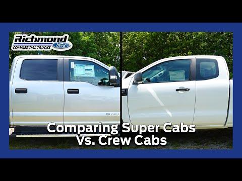 Super Cabs Vs Crew Cabs