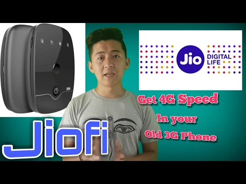 Jiofi WiFi hotspot router  (Sikkim, Nepali)