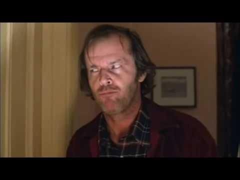 """Jack Nicholson haciendo """"Preparación Emocional"""" en The Shining. Técnica Meisner."""