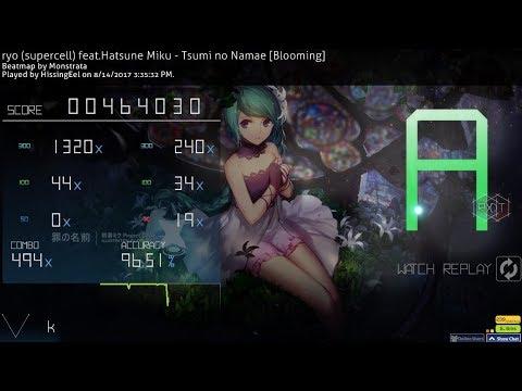 Ryo (supercell) Feat. Hatsune Miku - Tsumi No Namae [Blooming] +RXDT 96.51%