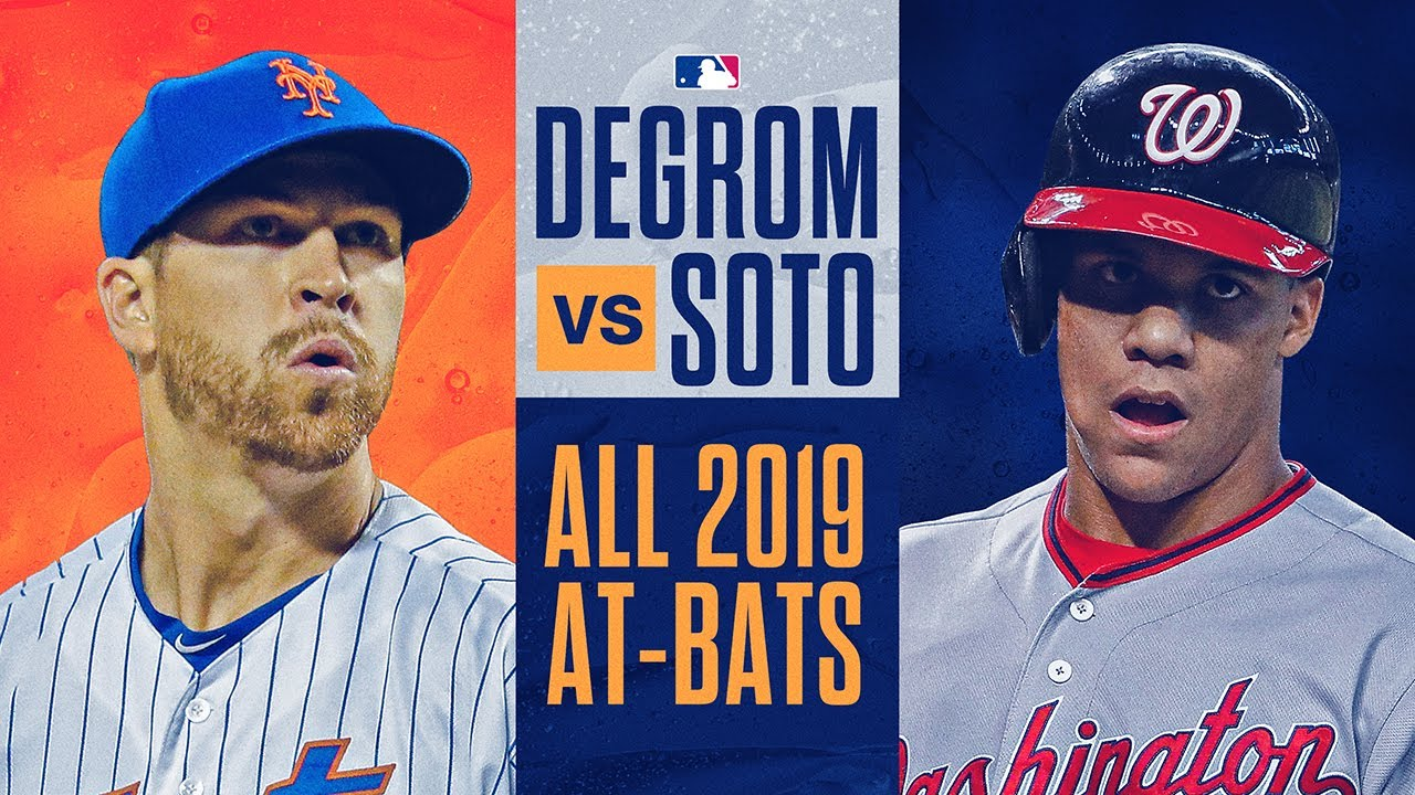 Juan Soto vs. Jacob deGrom - Full At-Bats from 2019 (Nationals & Mets stars have epic battles!)