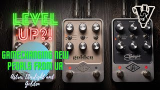 New Universal Audio Pedals are Game Changers - Golden, Astra and Starlight