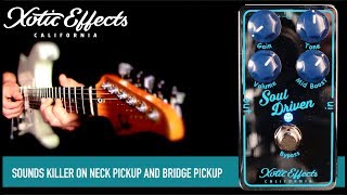 XOTIC Effects Soul Driven Overdrive