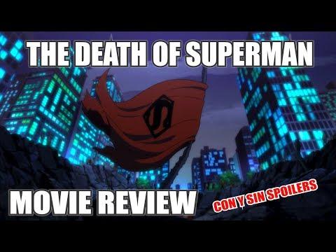 THE DEATH OF SUPERMAN | LA MUERTE DE SUPERMAN | CRÍTICA | DC ANIMATED