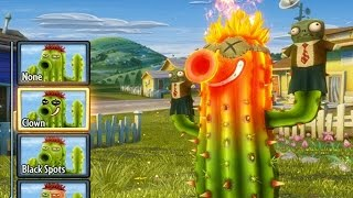 Plants Vs. Zombies: Garden Warfare - Fire Cactus Unlocked
