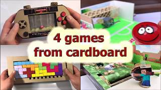 4 interesting games from cardboard