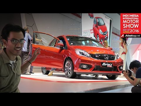 Review Honda Brio RS from IIMS 2016