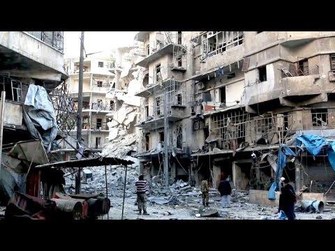 """Aleppo: """"Jetzt sind wir in Gottes Hand"""""""