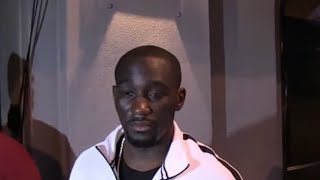 TERENCE CRAWFORD REACTS TO ERROL SPENCE WIN OVER GARCIA