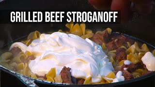 Grilled Beef Stroganoff recipe by the BBQ Pit Boys