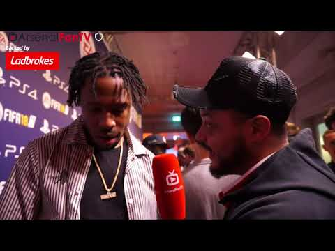 Rapper Avelino Talks To Troopz | FIFA 18 Launch Party