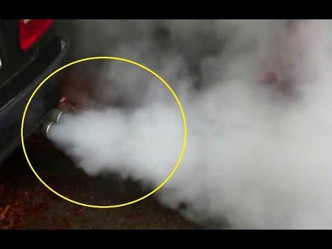 Diesel vehicle exhaust smoking white smoke on cold start - fixed
