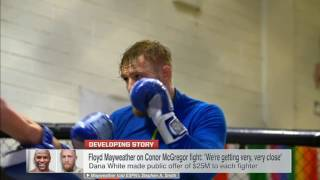Mayweather-McGregor fight not a done deal yet