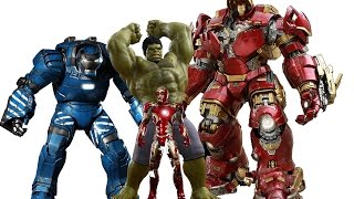revisiting hot toys hulkbuster mk 44 avengers age of ultron 1 6 scale action figure