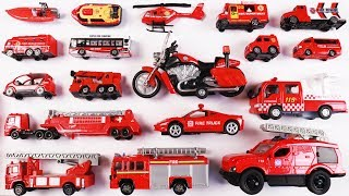 Fire Rescue Vehicles for Kids Children Toddlers Babies | Vehicles for kids | Educational video kids Video