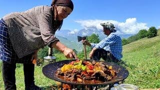 Традиционная Азербайджанская кухня-Саджичи