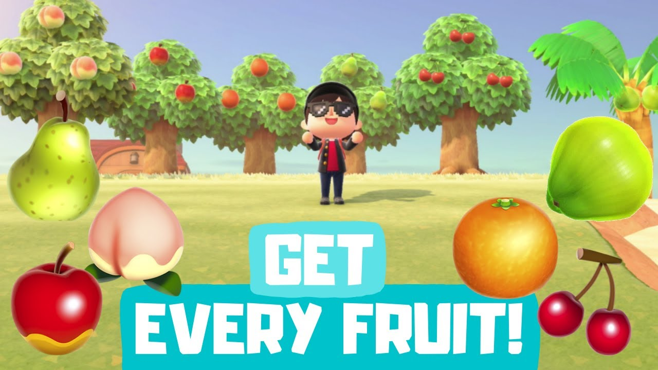 How You Can Get All The Native Fruit In Animal Crossing New Horizons Acfruitfriday Youtube