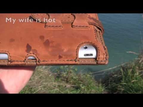 One Tough IPad 2 Full Grain Leather Case By Saddleback Leather Co.