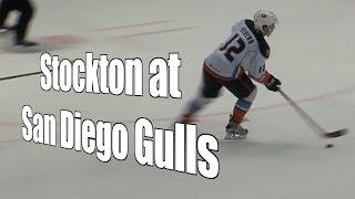 Stockton at San Diego Gulls, Pacific Division, 10/31/15