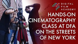 Digital Film Academy, New York - Cinematography Class Lab